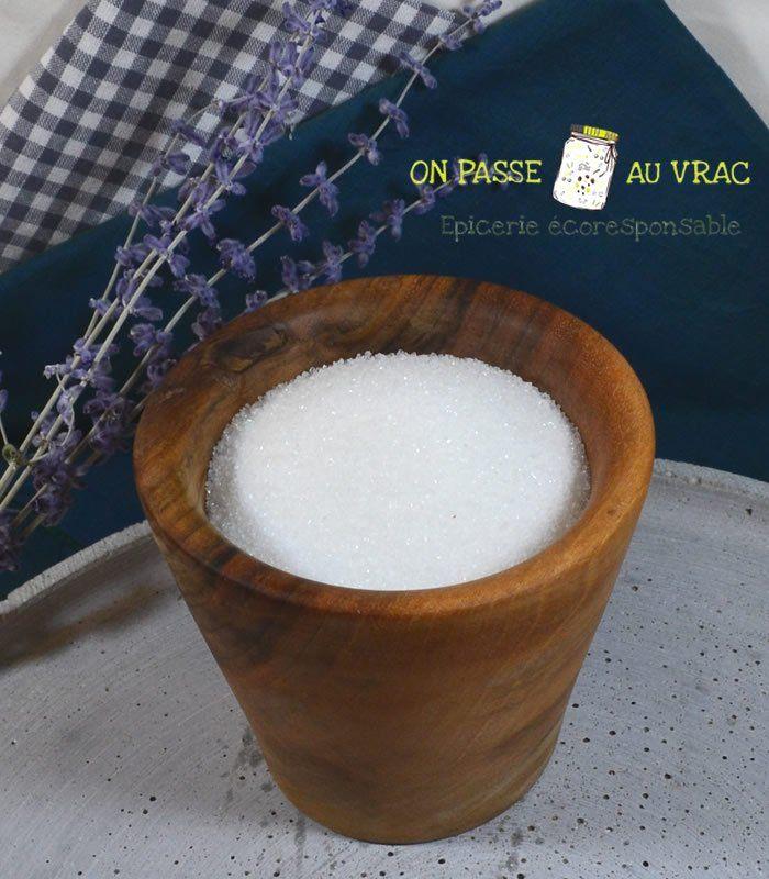 Sucre de canne blanc en poudre