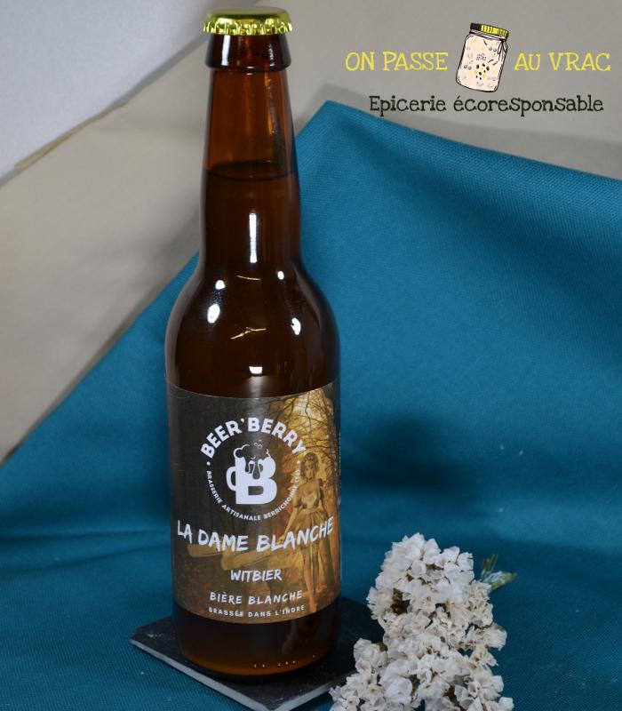 Bière La dame blanche -...