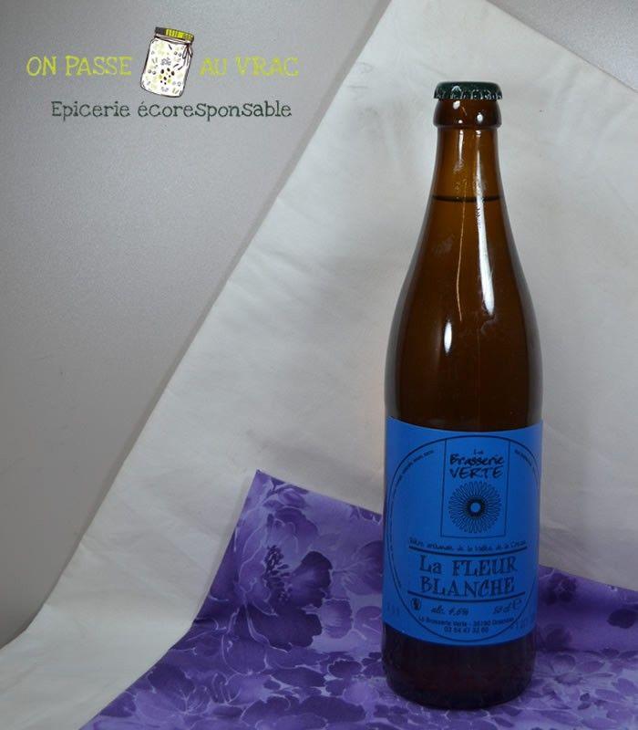 Bière La fleur blanche 50cl