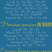 Bonjour Bonjour 🤗 Notez bien nos horaires spéciaux pour cette fin d'année !  ― ― ― ― ― ― 𝐁elle journée 🎁🎅🌍 Ǥᗯᗴᑎ ᗴ丅 ᗩᖇᑎᗩᑌᗪ, 𝐕os épiciers 🌿 ― ― ― ― ― ― 𝐎𝓷 𝐏𝐚𝐬𝐬𝐞 𝐀𝓾 𝐕𝐫𝐚𝐜 E͏p͏i͏c͏e͏r͏i͏e͏ i͏n͏d͏e͏́p͏e͏n͏d͏a͏n͏t͏e͏. D͏e͏p͏u͏i͏s͏ m͏a͏r͏s͏ 2͏0͏1͏9͏ ⏳ 𝐃u Mardi au Samedi : 9h-12h / 15h-19h ♻️ + de ❶❶⓿⓿ références 🏡 117 rue nationale • 36400 La Châtre ✆ 02.54.30.96.93 ⏸ 𝐀rrêt-minute ♿ 𝐀ccès PMR 🛒 https://www.onpasseauvrac.fr/ ― ― ― ― ― ― #zerodechet #ecoresponsable #antigaspi #opav #lachatre #berryprovince #centrevaldeloire #commercedeproximite #vrac #vracindependant #sansemballage #ecommerce