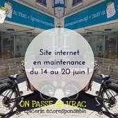 Bonjour Bonjour 🤗 De petits changements toute cette semaine pour vous permettre dès le 21 juin de choisir une livraison en Mondial Relay dans toute la France !! Merci pour votre patience... ;)  ― ― ― ― ― ― Gwen & Arnaud, vos épiciers 🌿 ― ― ― ― ― ― On passe au vrac É͏p͏i͏c͏e͏r͏i͏e͏ i͏n͏d͏e͏́p͏e͏n͏d͏a͏n͏t͏e͏, de͏p͏u͏i͏s͏ m͏a͏r͏s͏ 2͏0͏1͏9͏ ⏳ Du Mardi au Samedi : 9h - 19h en continu ♻️ + de ❶❶⓿⓿ références 🏡 117 rue nationale • 36400 La Châtre ✆ 02.54.30.96.93 ⏸ Arrêt-minute ♿ Accès PMR 🛒 https://www.onpasseauvrac.fr/ ― ― ― ― ― ― #onpasseauvrac #zerodechet #ecoresponsable #antigaspi #opav #lachatre #berryprovince #centrevaldeloire #sansemballage #commercedeproximite #vrac #vracindependant #consommerautrement