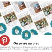[Pinterest] On s'y met ! Gwen adore imaginer des visuels, mettre en avant des produits, expliquer leurs bienfaits, créer des graphismes... alors c'est tout naturellement que votre épicerie préférée est aussi sur Pinterest ! Abonnez-vous ▶️ https://www.pinterest.fr/onpasseauvrac/ ― ― ― ― ― ― Gwen & Arnaud, vos épiciers 🌿 ― ― ― ― ― ― On passe au vrac É͏p͏i͏c͏e͏r͏i͏e͏ i͏n͏d͏e͏́p͏e͏n͏d͏a͏n͏t͏e͏, de͏p͏u͏i͏s͏ m͏a͏r͏s͏ 2͏0͏1͏9͏ ⏳ Du Mardi au Samedi : 9h - 19h ♻️ + de ❶❶⓿⓿ références 🏡 117 rue nationale • 36400 La Châtre ✆ 02.54.30.96.93 ⏸ Arrêt-minute ♿ Accès PMR 🛒 www.onpasseauvrac.fr 🟢 Drive • Click&Collect • Livraison en Mondial Relay ― ― ― ― ― ― #onpasseauvrac #zerodechet #ecoresponsable #antigaspi #opav #lachatre #berryprovince #centrevaldeloire #sansemballage #commercedeproximite #vrac #vracindependant #consommerautrement #pinterest