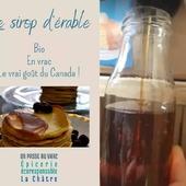 Bonjour Bonjour 🤗 Nous sommes allés le chercher à Clion, chez notre fournisseur Jean Hervé ! Le sirop d'érable n'attend plus que votre bouteille !  Partagez vos meilleures recettes avec le sirop d'érable 😜 ― ― ― ― ― ― ▶️ Sirop de couleur ambré, goût riche (grade B ancienne classification) accompagne beaucoup de desserts et préparations sucrées. C'est un véritable sucre à part entière, un sucre complet naturel, le sucre de la forêt.  ― ― ― ― ― ― Belle journée 🌍 Ǥᗯᗴᑎ & ᗩᖇᑎᗩᑌᗪ 𝐕os épiciers 🌿 ― ― ― ― ― ― 𝐎𝓷 𝐏𝐚𝐬𝐬𝐞 𝐀𝓾 𝐕𝐫𝐚𝐜 É͏p͏i͏c͏e͏r͏i͏e͏ i͏n͏d͏e͏́p͏e͏n͏d͏a͏n͏t͏e͏, de͏p͏u͏i͏s͏ m͏a͏r͏s͏ 2͏0͏1͏9͏ ⏳ 𝐃u Mardi au Samedi : 9h - 17h45 ♻️ + de ❶⓿⓿⓿ références 🏡 117 rue nationale • 36400 La Châtre ✆ 02.54.30.96.93 ⏸ 𝐀rrêt-minute ♿ 𝐀ccès PMR 🛒 https://www.onpasseauvrac.fr/ ― ― ― ― ― ― #onpasseauvrac #zerodechet #ecoresponsable #antigaspi #opav #lachatre #berryprovince #centrevaldeloire #sansemballage #commercedeproximite #vrac #vracindependant #consommerautrement #siropderable