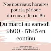 Horaires à partir de mardi 2 février ! ― ― ― ― ― ― Belle journée 🌲🍁🌍 Ǥᗯᗴᑎ ᗴ丅 ᗩᖇᑎᗩᑌᗪ 𝐕os épiciers 🌿 ― ― ― ― ― ― 𝐎𝓷 𝐏𝐚𝐬𝐬𝐞 𝐀𝓾 𝐕𝐫𝐚𝐜 É͏p͏i͏c͏e͏r͏i͏e͏ i͏n͏d͏e͏́p͏e͏n͏d͏a͏n͏t͏e͏, de͏p͏u͏i͏s͏ m͏a͏r͏s͏ 2͏0͏1͏9͏ ⏳ 𝐃u Mardi au Samedi : 9h - 17h45 ♻️ + de ❶⓿⓿⓿ références 🏡 117 rue nationale • 36400 La Châtre ✆ 02.54.30.96.93 ⏸ 𝐀rrêt-minute ♿ 𝐀ccès PMR 🛒 https://www.onpasseauvrac.fr/ ― ― ― ― ― ― #onpasseauvrac #zerodechet #ecoresponsable #antigaspi #opav #lachatre #berryprovince #centrevaldeloire #sansemballage #commercedeproximite #vrac #vracindependant  #consommerautrement