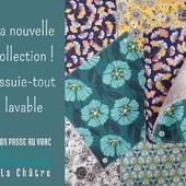 Bonjour Bonjour 🤗 Alternative durable et zéro-déchet au sopalin, l'essuie-tout en coton imprimé oeko-tex dispose de boutons pression qui vous permettent de former un rouleau. Ces longuettes sont lavables et réutilisables, écologiques et économiques, vous pourrez les conserver pendant des années ! Produit fabriqué de façon artisanale localement en Creuse (23). Proposé à l'unité, 4,75€. Passez une belle semaine 🌷 ― ― ― ― ― ― Gwen & Arnaud, vos épiciers 🌿 ― ― ― ― ― ― On passe au vrac É͏p͏i͏c͏e͏r͏i͏e͏ i͏n͏d͏e͏́p͏e͏n͏d͏a͏n͏t͏e͏, de͏p͏u͏i͏s͏ m͏a͏r͏s͏ 2͏0͏1͏9͏ ⏳ Du Mardi au Samedi : 9h - 19h en continu ♻️ + de ❶⓿⓿⓿ références 🏡 117 rue nationale • 36400 La Châtre ✆ 02.54.30.96.93 ⏸ Arrêt-minute ♿ Accès PMR 🛒 https://www.onpasseauvrac.fr/ ― ― ― ― ― ― #onpasseauvrac #zerodechet #ecoresponsable #antigaspi #opav #lachatre #berryprovince #centrevaldeloire #sansemballage #commercedeproximite #vrac #vracindependant #consommerautrement