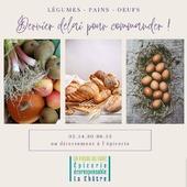 Bonjour Bonjour 🤗 ▶️ Légumes : vendredi 17h30 max Liste : https://urlz.fr/f2O7 ▶️ Pains & Oeufs : samedi 17h30 max Listes : https://urlz.fr/f2Ob & https://urlz.fr/f2Od ▶️ Bio & Locaux ― ― ― ― ― ― Belle journée 🌍 Gwen & Arnaud, vos épiciers 🌿 ― ― ― ― ― ― On passe au vrac É͏p͏i͏c͏e͏r͏i͏e͏ i͏n͏d͏e͏́p͏e͏n͏d͏a͏n͏t͏e͏, de͏p͏u͏i͏s͏ m͏a͏r͏s͏ 2͏0͏1͏9͏ ⏳ Du Mardi au Samedi : 9h - 17h45 ♻️ + de ❶⓿⓿⓿ références 🏡 117 rue nationale • 36400 La Châtre ✆ 02.54.30.96.93 ⏸ Arrêt-minute ♿ Accès PMR 🛒 https://www.onpasseauvrac.fr/ ― ― ― ― ― ― #onpasseauvrac #zerodechet #ecoresponsable #antigaspi #opav #lachatre #berryprovince #centrevaldeloire #sansemballage #commercedeproximite #vrac #vracindependant #consommerautrement #locavore